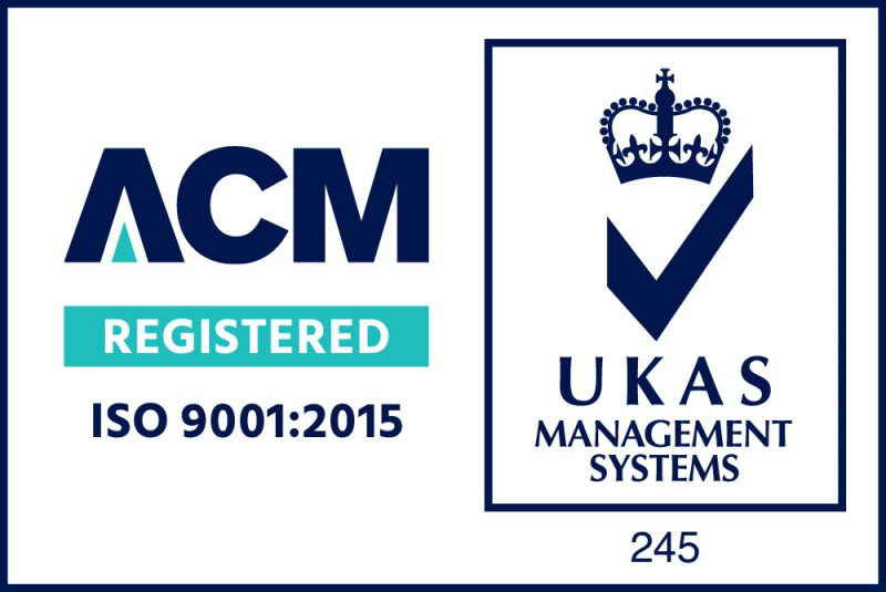 9001 ACM UKAS - Accreditations